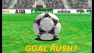 Spain Fast Playthrough with Best Goal - Virtua Striker 2 '97