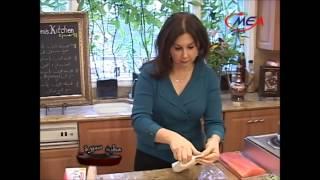Samira's Kitchen # 91 Part 1 Puff Pastry Wrapped Salmon سمك السالمون مع البف باستري