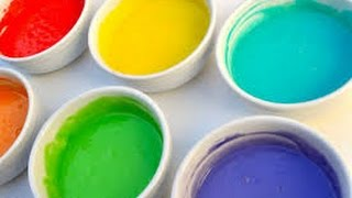 How to Make Finger Paint
