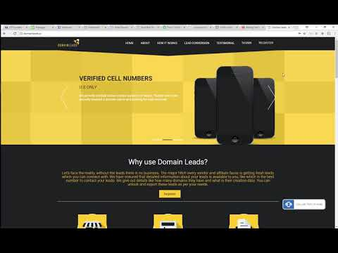 Getting Started - Newly Registed Domain Leads