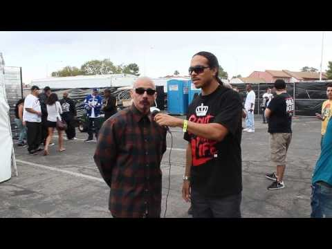 Las Vegas Lowrider Show Lil Rob interview 2013