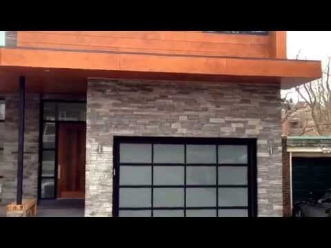 Contemporary Custom Homes: Garage Doors