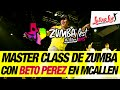 Master class de Zumba con Beto Perez en McAllen