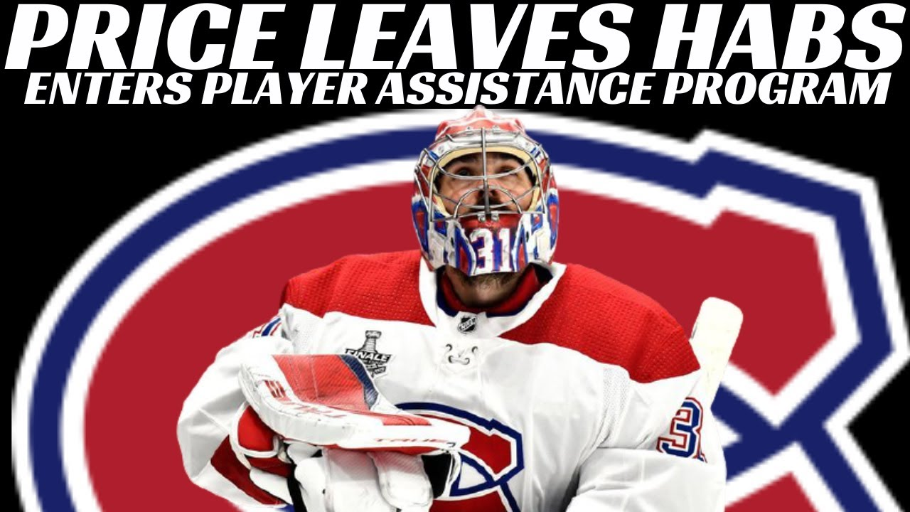 Montreal Canadiens' Carey Price takes leave, enters NHL player ...
