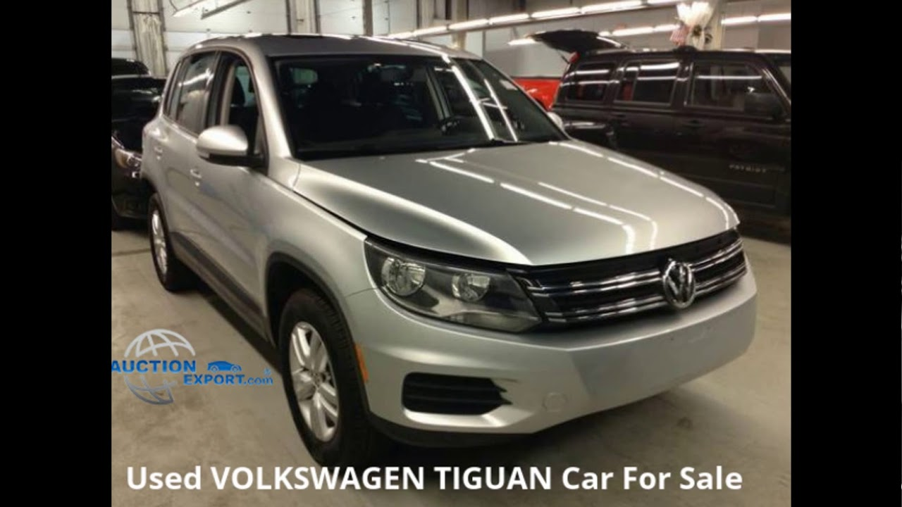 Used Volkswagen Tiguan For Sale in USA, Worldwide Shipping - YouTube