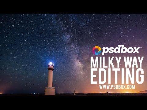Milky Way Photo Editing - Night Photography tutorial thumbnail
