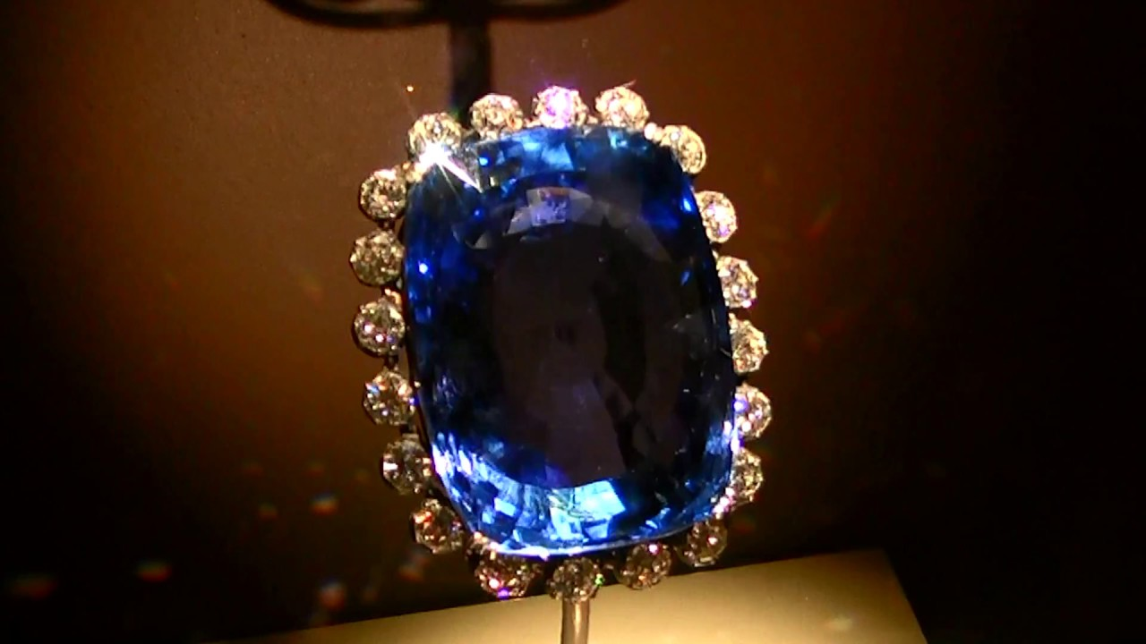 The Logan Sapphire A 423 Carat Blue Gem