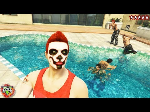 GTA 5 Snipers vs Stunters - Grand Theft Auto 5 Open Lobby