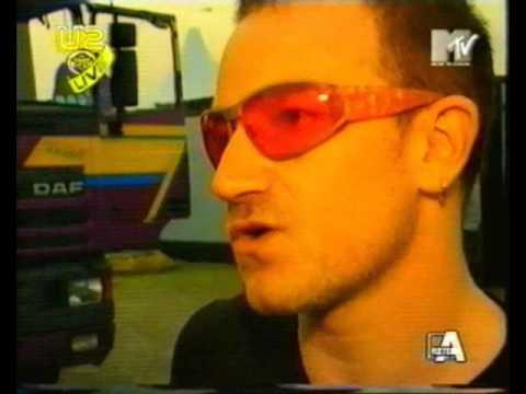 U2 POPmart Interview Reggio Emilia 1997
