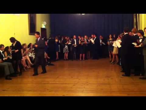 Girton song one after college feast on May 17