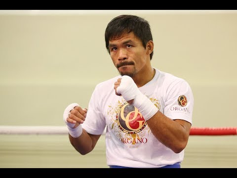 Manny Pacquiao Training For Return Fight - Top P4P ? Matthysse ? GBP / Arum