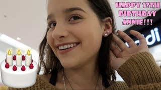 2nd Piercing on Her 13th Birthday 🎂 (WK 361.7) | Bratayley