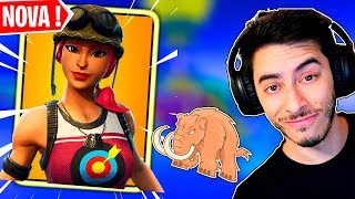 The PATRIOT PIROU NA * NOVA * SKIN BULLET in the TARGET WITH PATRI-BROTHER and SETTIOP-Fortnite