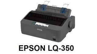 Máy in kim Epson LQ 350 | máy in hóa đơn Epson LQ350
