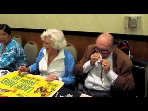 "90-Year-Old ""Della Street"" from PERRY MASON: BARBARA HALE @ Hollywood Show, Burbank 8.4.12"