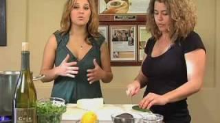 Cooking Chicken Noodle Soup At Ceja Vineyards