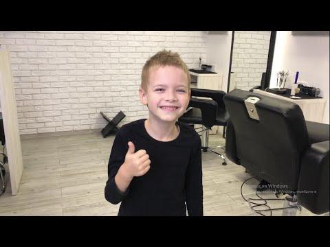 Как подстричь мальчика / Детская стрижка/ Модная стрижка для мальчика