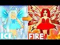 ICE PRINCESS TO FIRE PRINCESS TRANSFORMATION!