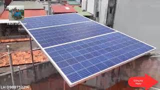 TECH - Điện mặt trời hòa lưới 1kw giá 17 triệu