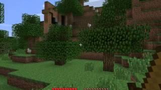 Minecraft 1.4.5 Выживания! #1