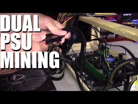 How to Run Dual Power Supplies on Your Mining Rig