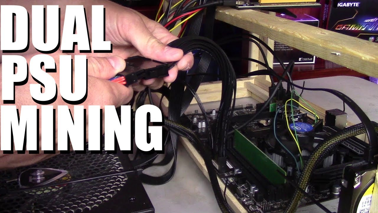How To Run Dual Power Supplies On Your Mining Rig Youtube Wiring Schematic For Hp Pc Premium
