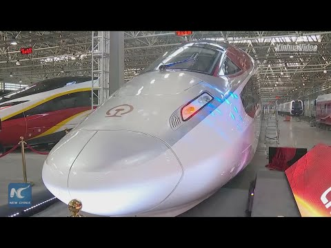 World's first 350 km/h freight train off assembly line