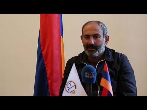 NTV | Papaz, Ermenistan Başbakanı Paşinyan'ı kiliseden kovdu