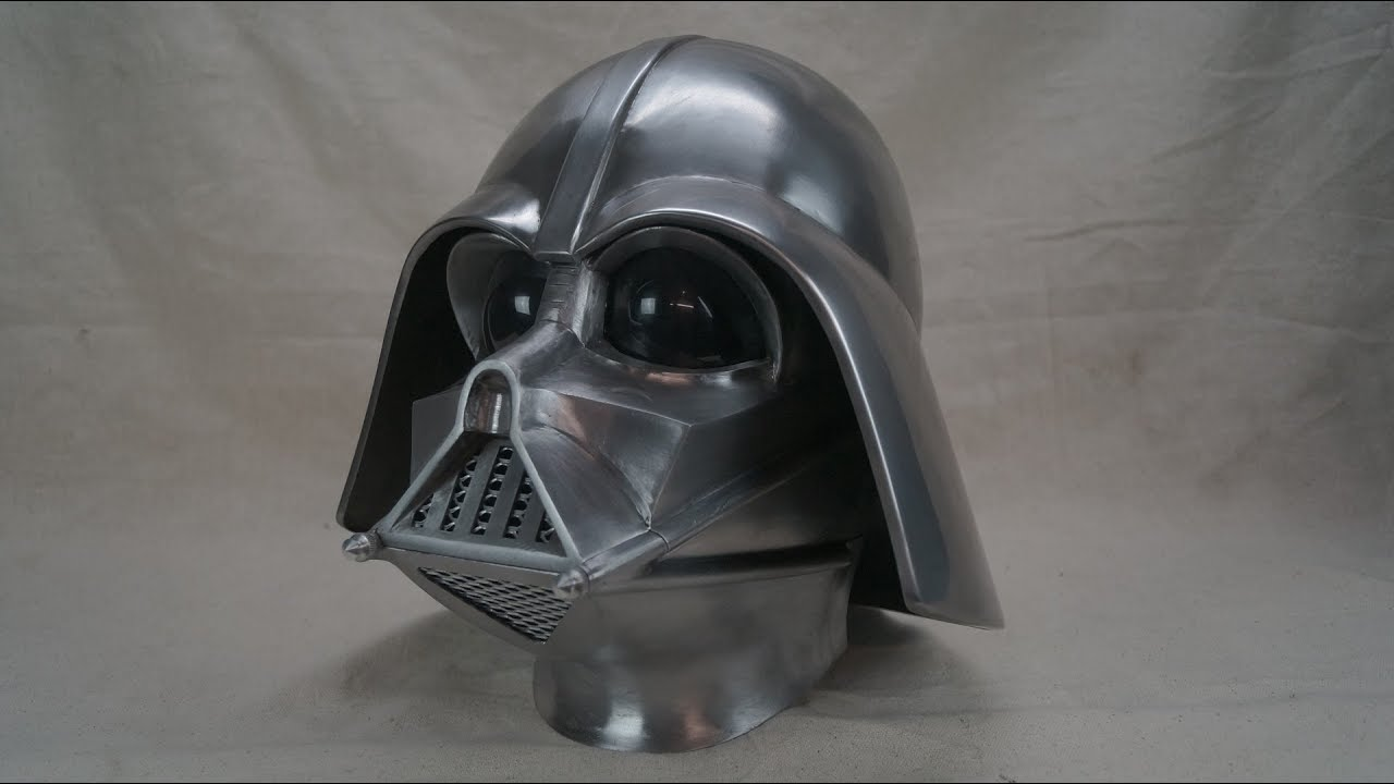 How To Make A Darth Vader Helmet From Metal