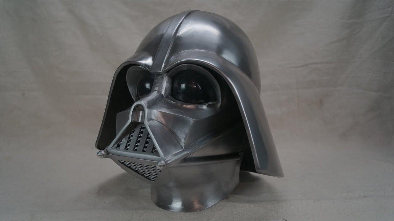 14ae308cc making the metal darth vader helmet - YouTube