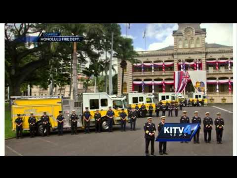King David Kalakaua ceremony honor held at Iolani Palace