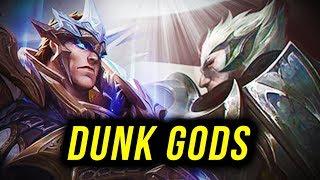 god-kings Garen + Darius DESTROYS EVERYONE on the map
