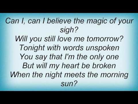 Roberta Flack - Will You Still Love Me Tomorrow Lyrics