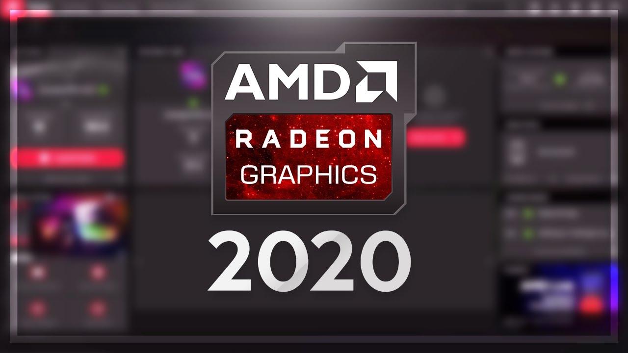HƯỚNG DẪN TẢI VÀ SỬ DỤNG AMD RADEON 2020 MỚI!