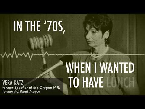 What was it like being a woman politician in Oregon in the '70s?