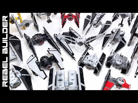 LEGO TIE Fighter Collection - 21 TIE Fighters! Star Wars MOC