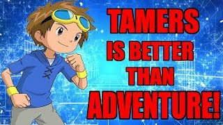 Why Digimon Tamers Is The Best Digimon Season And Is Better Than Digimon Adventure