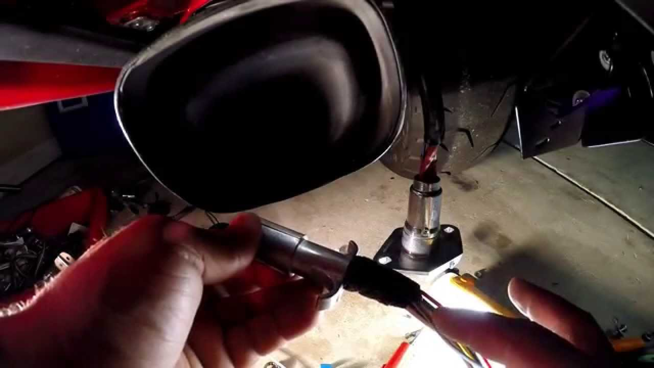 How To Wire A Goldwing 5 Flat 6 Round Part 1 Youtube 2003 Honda Wiring