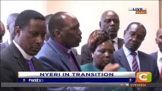 Clergy conduct cleansing ceremony for Nyeri County