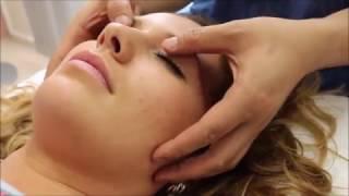 Mассаж при головной боли