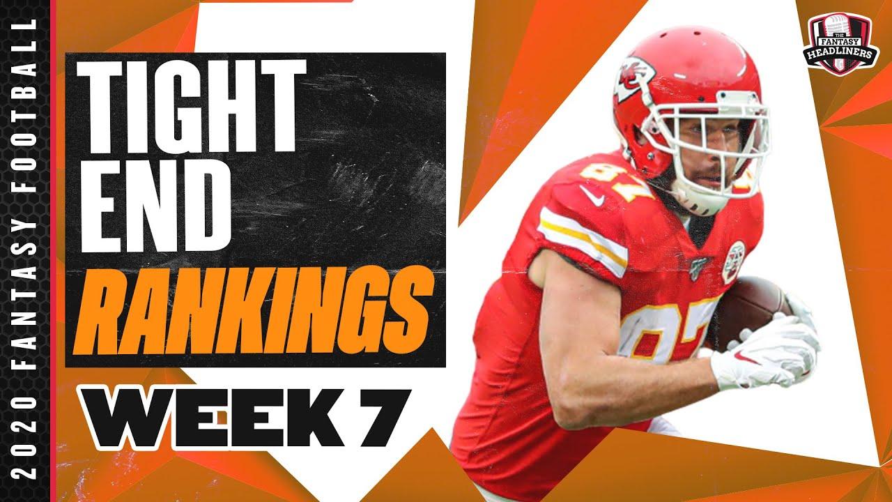 2020 Fantasy Football Rankings - Top 20 Tight Ends in Fantasy Football - Week 7