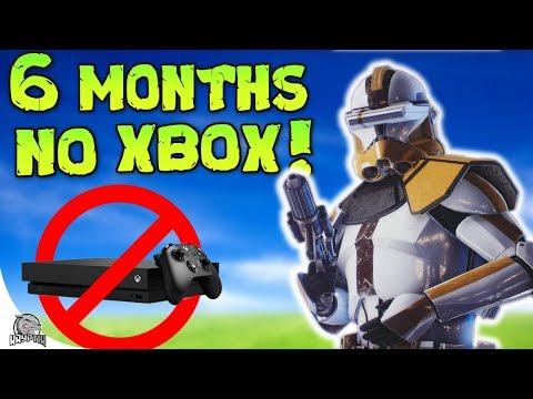 NO XBOX FOR 6 MONTHS CHALLENGE...kinda - Star Wars Battlefront 2 thumbnail