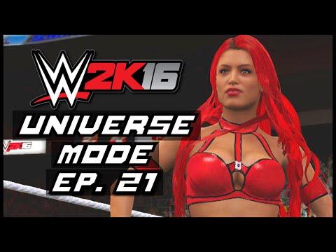 WWE 2K16 | Universe Mode - 'BO BEANS!' | #21