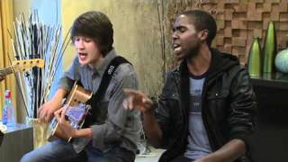 "Devon Werkheiser sings ""One More Day"" at the Dream House on If I Can Dream"