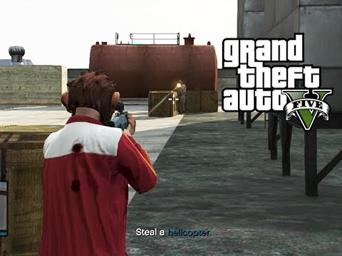 GTA 5 Online Mission: By Land, Sea, and Air - It's Only You and I