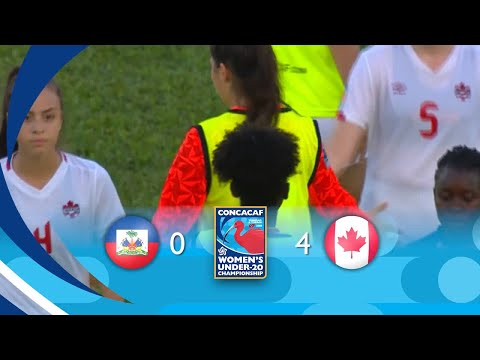 Haiti 0 - 4 Canada Highlights