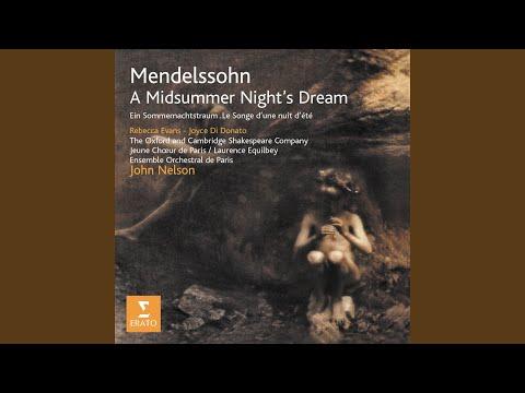 A Midsummer Night's Dream Op. 61: Scherzo - Allegro Vivace (1843)