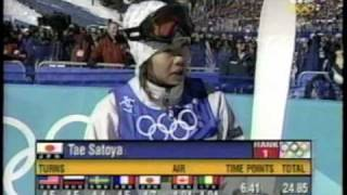 Tae Satoya: 2002 Olympic Moguls Final