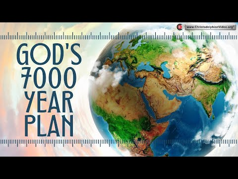 God's 7000 Year Plan With the Earth is drawing to a close.