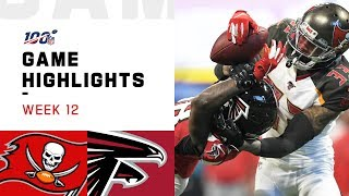 Buccaneers vs. Falcons Week 12 Highlights | NFL 2019